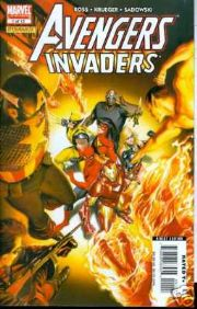 Avengers Invaders #1 Alex Ross Cover Marvel comic book
